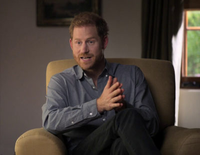 Prince Harry opens up in his new AppleTV series