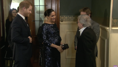 harry and meghan at the Albert hall
