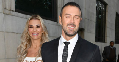 Paddy McGuinness and his wife Christine