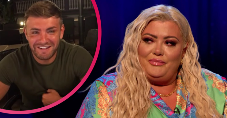 gemma collins news: tearful star pays tribute to her friend