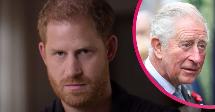 Prince Harry latest: Duke blames his dad