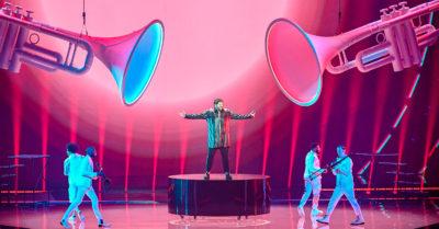 James Newman Eurovision 2021
