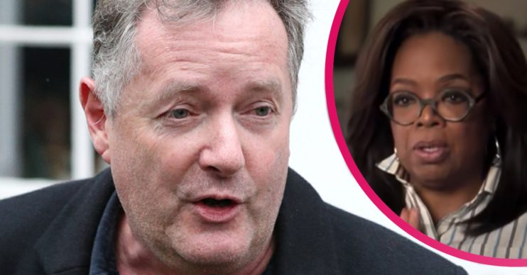 Piers Morgan hits out at Oprah Winfrey over Prince Harry series