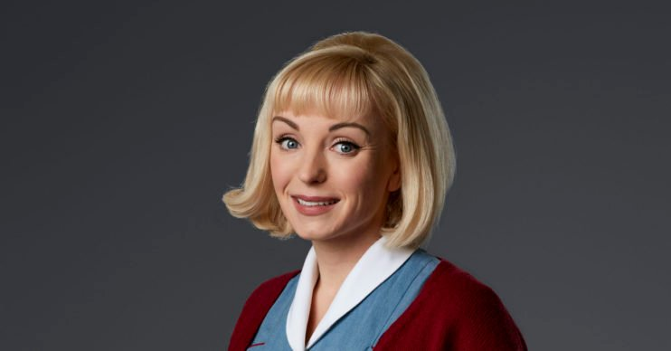 Helen George in Call The Midwife as Trixie