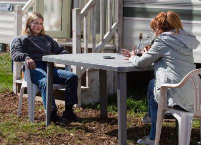 Who plays Liv's mum Sandra in Emmerdale?