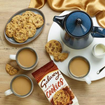 galaxy chocolate cookies