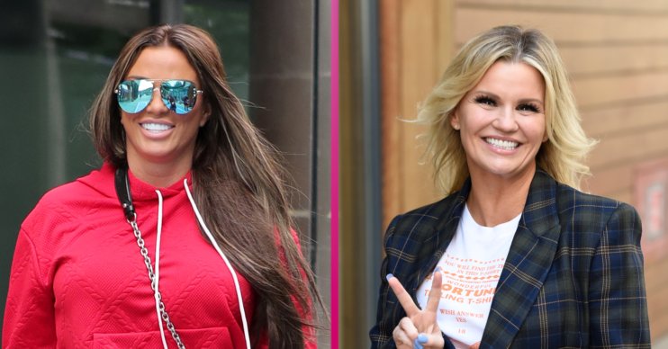 Katie Price news is that she suggested a team-up with pal Kerry Katona