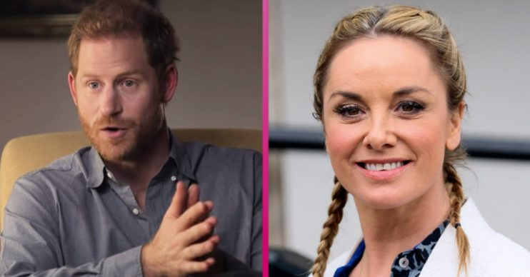 Prince Harry latest news: Royal fans divided as Tamzin Outhwaite calls Harry 'brave'