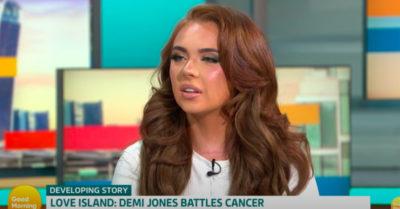 Demi Jones on Good Morning Britain