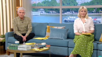 itv this morning: Holly and Phil hosting the show