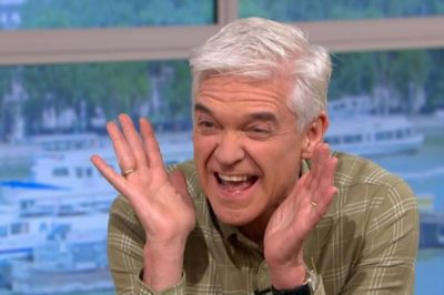 itv this morning: Phillip Schofield reacts to price of flowers