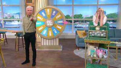 This Morning today saw Holly call Phil 'rude' after Spin To Win fail