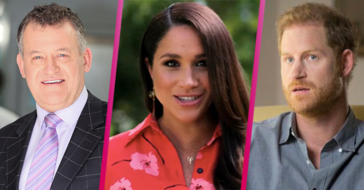 prince harry and meghan: duke blinded by her beauty