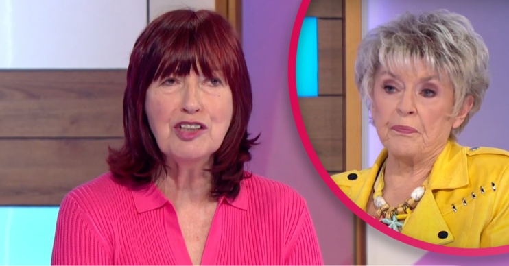 loose women presenters gloria and Janet come to blows