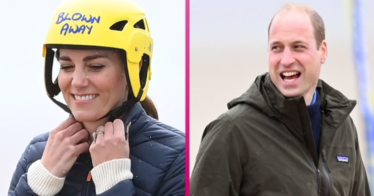 Prince William in St Andrews with Kate