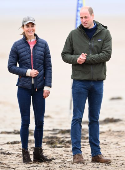 Kate Middleton and Prince William in St Andrews