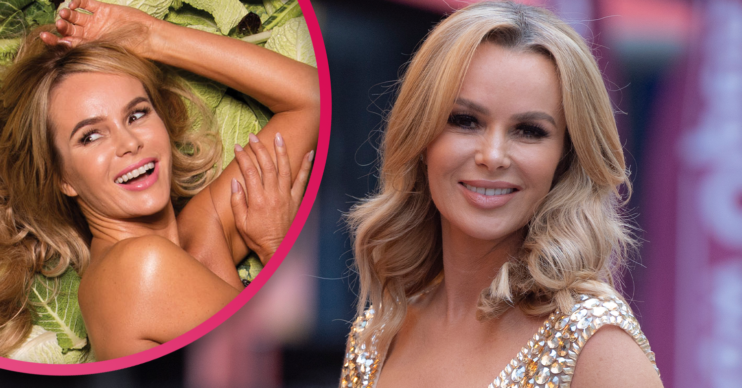 Amanda holden instagram: Star writhes naked on £50 notes