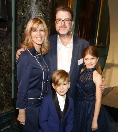 Kate Garraway with her husband and kids