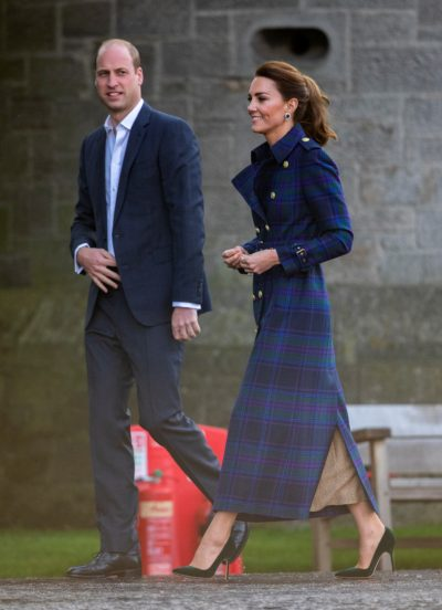 Prince William and Kate Middleton arrive at drive-in cinema