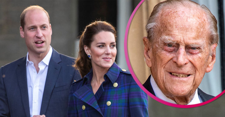 Prince William and Kate pay tribute to Prince Philip