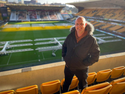 Long Lost Family: Born Without A Trace Steve at the football ground he was abandoned