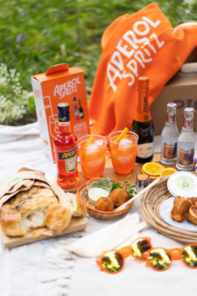 Aperol spritz cocktail kit and hamper on sale for bank holiday weekend