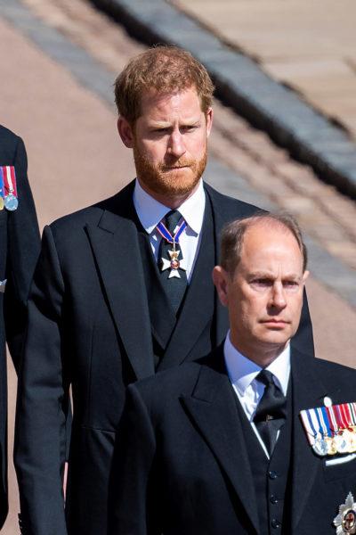In Prince Philip will, Harry left money