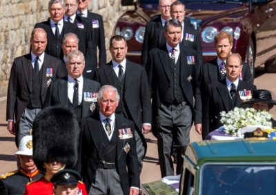Prince Philip will: His kids left items