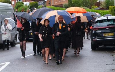Ashley cain dufter: star tidies Azaylia's grave