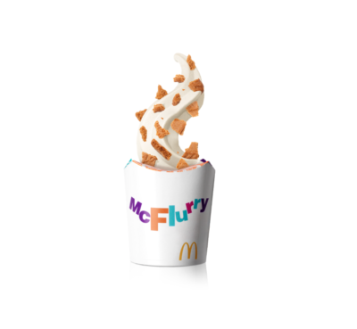 biscoff ice cream McFlurry launched by McDonald's
