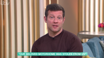 This Morning today saw Dermot O'Leary cut off a bereaved widow