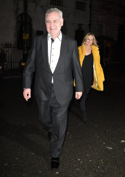 Eamonn Holmes reveals he's on the road to recovery after slipped discs
