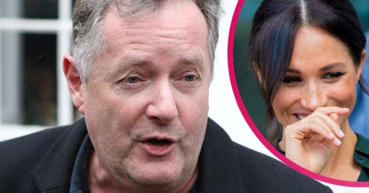 Piers Morgan and Meghan Markle news
