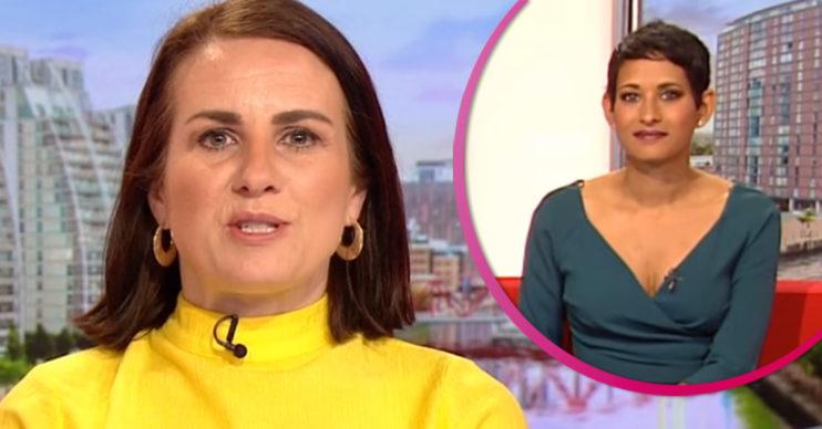 BBC Breakfast Nina replaces Naga