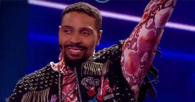 Jordan Banjo was the first eliminated on Masked Dancer UK