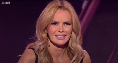 Amanda Holden reacts on I Can See Your Voice
