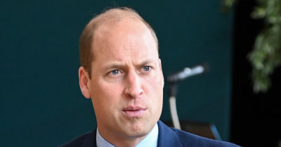 Prince William angry