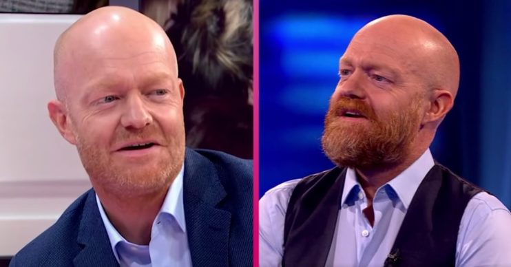 Jake Wood's huge, bushy beard takes Beat The Chasers viewers by surprise
