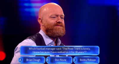 Jake Wood smiles on Beat The Chasers