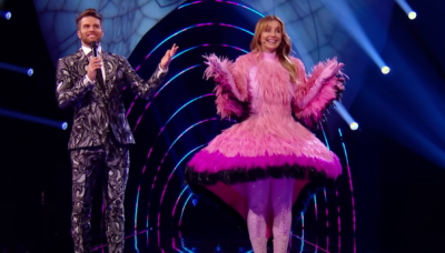 The Masked Dancer: Louise Redknapp is revealed as Flamingo, plus top theories on other contestants