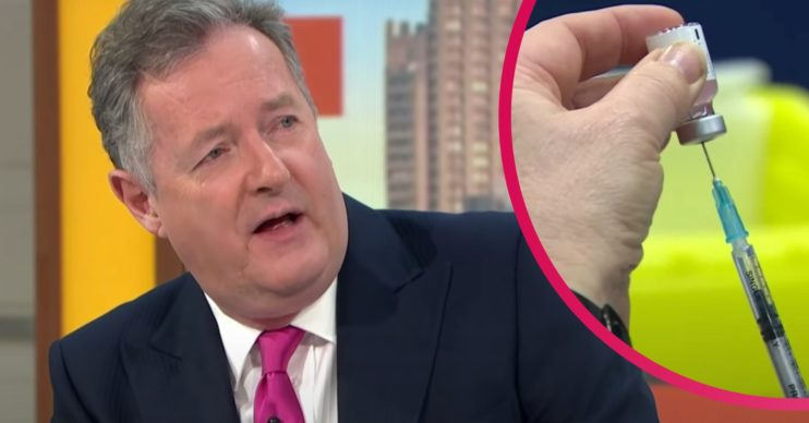 Piers Morgan Twitter rant about anti-vaxxers