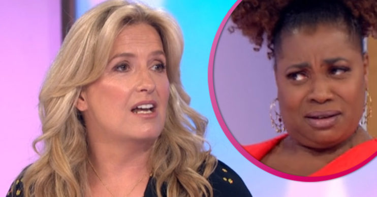Loose Women: Penny Lancaster and Brenda Edwards clash
