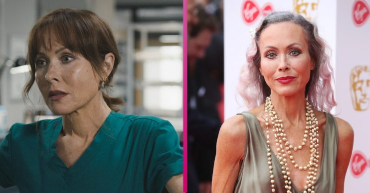 Amanda Mealing reacts to news that Holby City has been axed