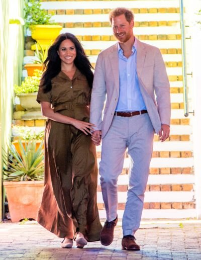 Prince Harry and Meghan Markle welcome baby