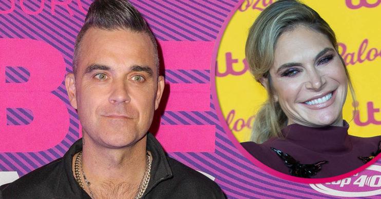 Robbie Williams shows off bald head on instagram