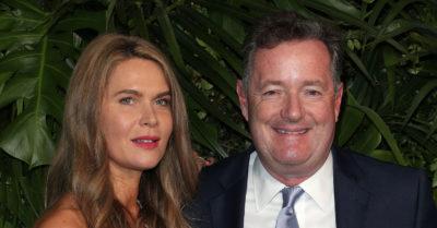 Piers Morgan and his wife Celia Walden