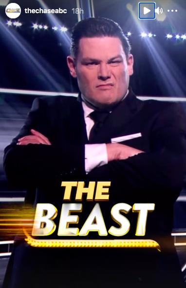 Mark Labbett on The Chase ABC