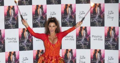 Katie Price book launch