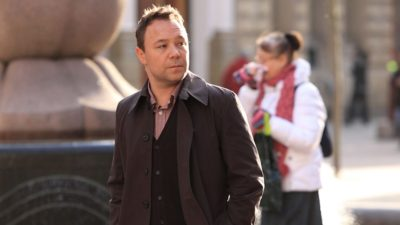 Time on BBC One star Stephen Graham in Accused
