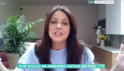 beverley turner this morning: star banned from appearing